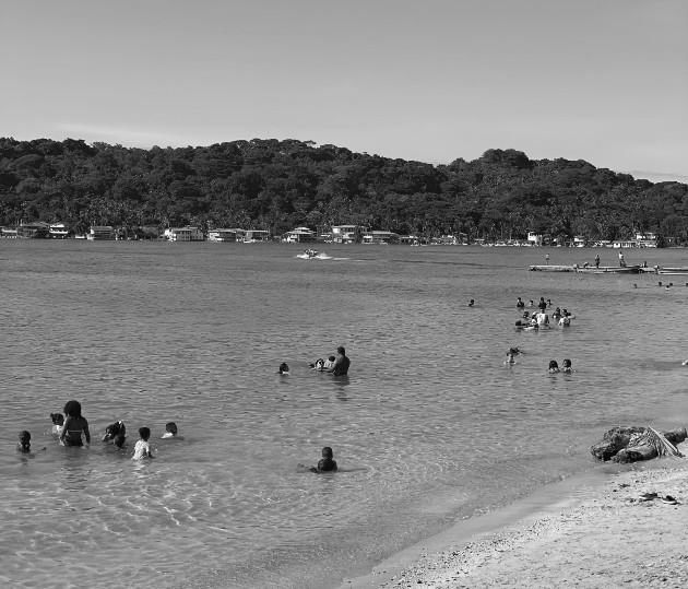 Vista de una de las playas en la provincia de Colón. Foto Cortesía: David José Díaz-Díaz.