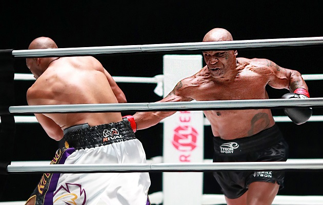 Mike Tyson admitió que temía lesionarse.