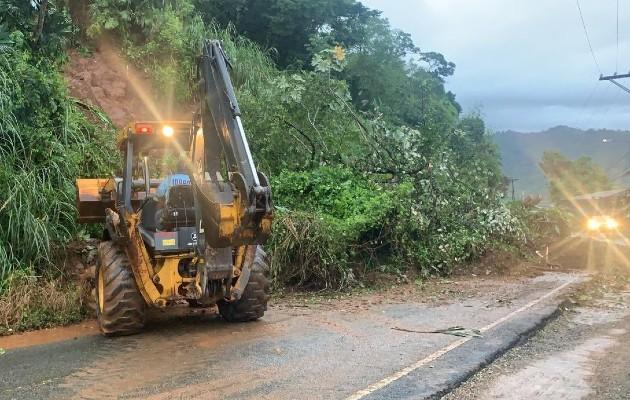 El transporte que sale de los distritos de Portobelo y Santa Isabel ha sido suspendido por razones de seguridad.