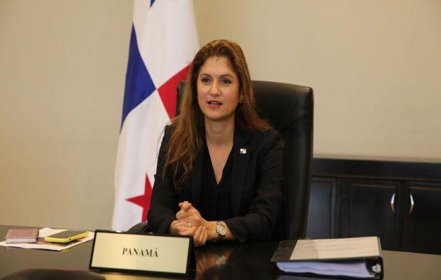 Erika Mouynes es la nueva canciller de la República designada por Laurentino Cortizo.