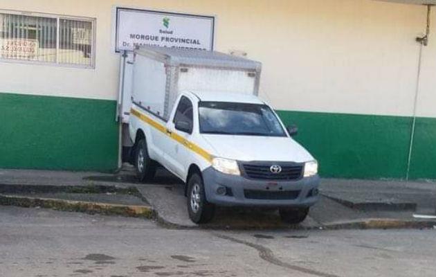 Personal del Ministerio Público hizo el levantamiento del cuerpo. Foto: Diómedes Sánchez S.