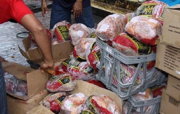 Los jamones formarán parte de la bolsa de Panamá Solidario.