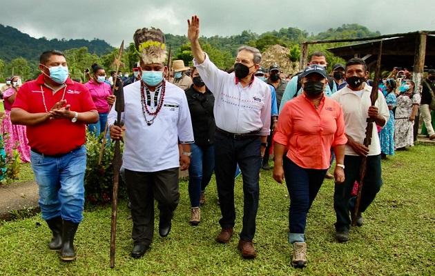 Cortizo está convencido de que los indígenas conservarán las áreas protegidas.