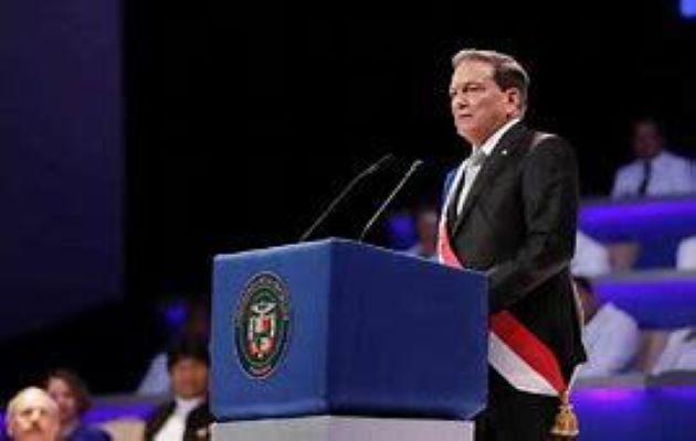 El presidente Laurentino Cortizo asumió como presidente de la República de Panamá el 1 de julio de 2019.
