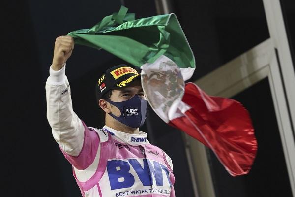 Sergio 'Checo' Pérez, piloto mexicano. Foto:EFE
