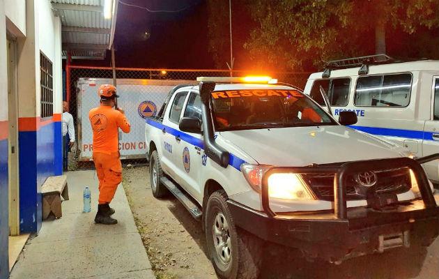 El Sinaproc efectuó monitoreos de estructuras públicas. Foto: José Vásquez.