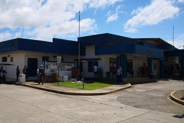 Hospital Raúl Dávila Mena en Changuinola, Bocas del Toro, tiene un 94% de disponibilidad de camas para pacientes con COVID-19.