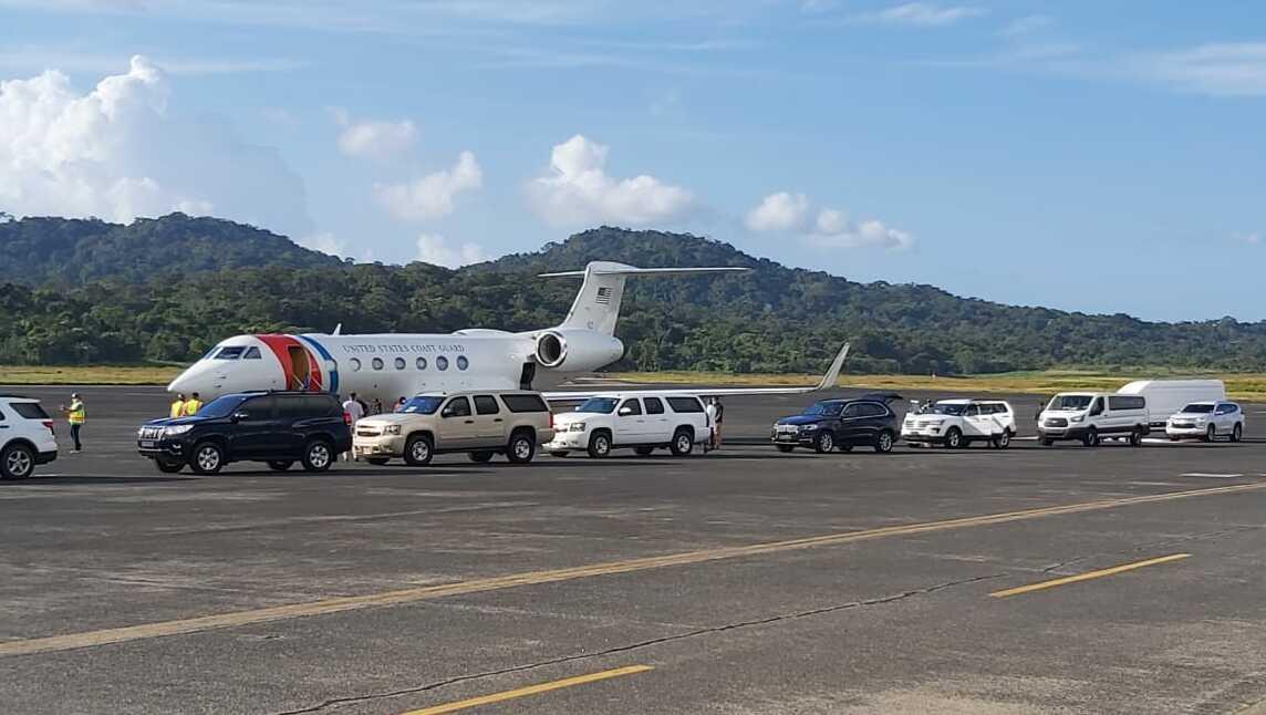 Chad F. Wolf aterrizó en el Aeropuerto Internacional Panamá Pacífico.
