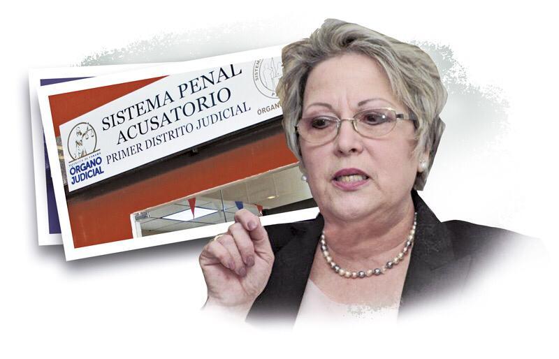 María Eugenia López Arias, magistrada de la Corte Suprema de Justicia.