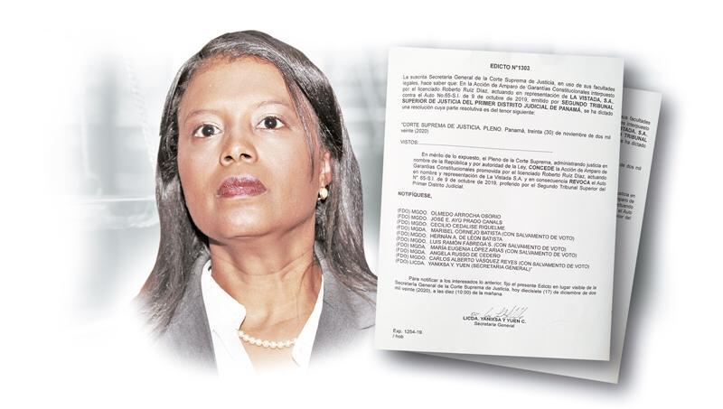 Zuleyka Moore, exfiscal Anticorrupción.