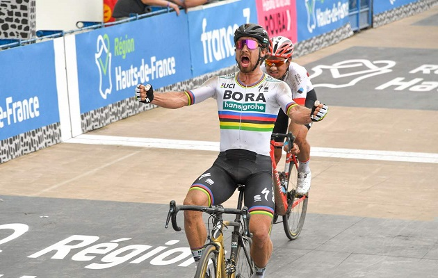 La bicicleta era un modelo de la 'Sagan Collection'.