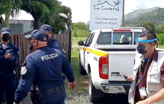 Municipio de Arraiján aplica sanciones a locales por violar normas de bioseguridad.
