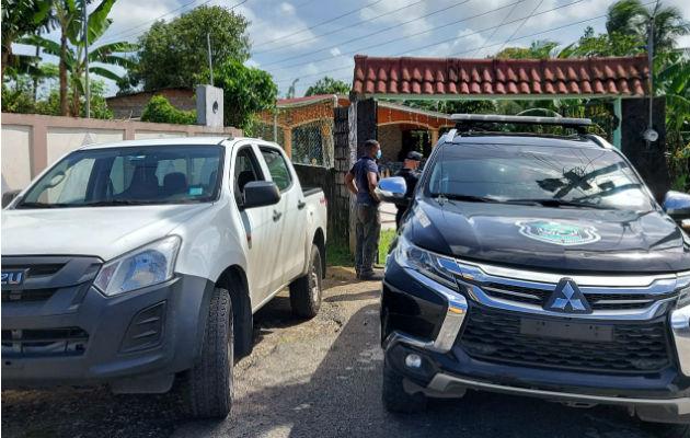 La Policía Nacional revisó todo el perímetro en búsqueda de los atacantes. Foto: Diómedes Sánchez S.