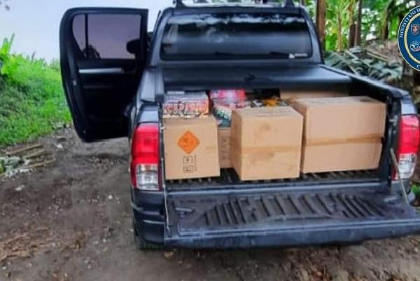 Fuentes cercanas a la investigación dieron a conocer que la mercancía había sido introducida a Costa Rica ilegalmente desde Panamá.