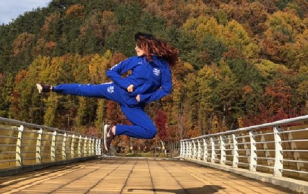 El poomsae es la otra cara del taekwondo competitivo. Foto:Cortesía