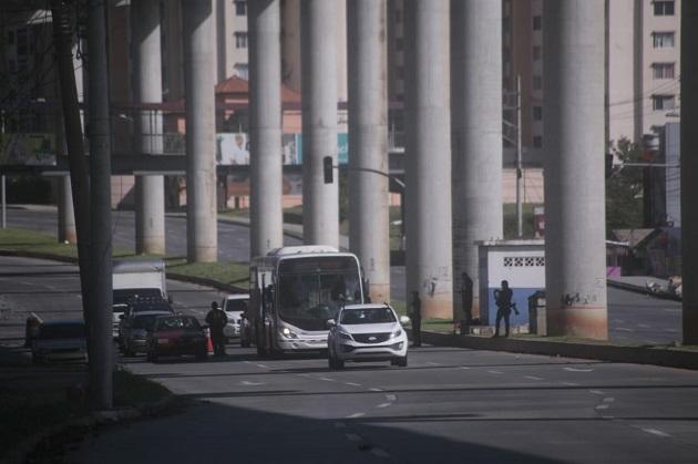 Panamá cumplió este domingo su tercer día consecutivo de cuarentena total, como medida para bajar los contagios de COVID-19. Foto: Víctor Arosemena