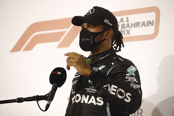 Lewis Hamilton. Foto:EFE
