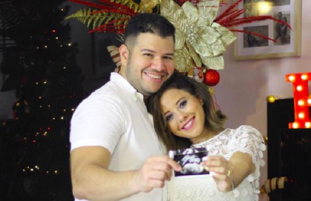 Rubén Andrión y Reneé Alejandra. Foto: Instagram / @reneealejandrac