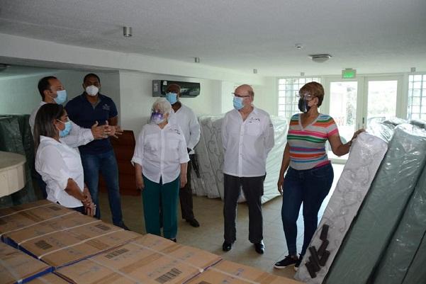 Una vez que el hotel hospital de Espinar esté en funcionamiento ayudará a desahogar el hotel hospital de la Transístmica.