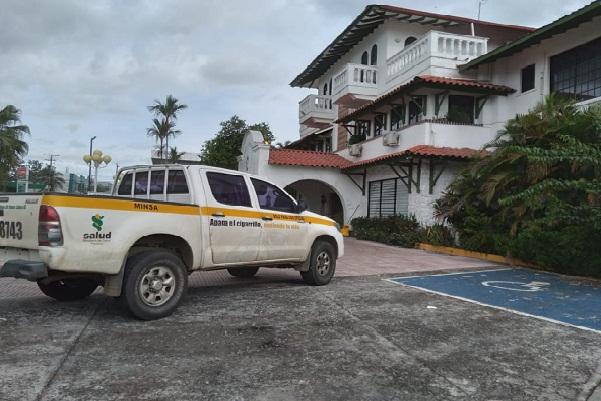 Las instalaciones del Hotel Nacional, funcionarán hasta el 15 de enero para atender pacientes con COVID-19