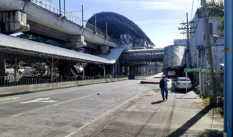 La estación San Isidro funciona desde 2015. La estación de los buses no está lista. Foto de Víctor Arosemena