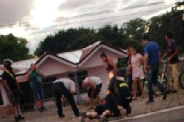 Se conoció  que la víctima, oriunda de la capital costarricense, se estaba instalando en la Zona Sur  del sector fronterizo de Paso Canoas por negocios.