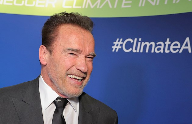 El actor y exgobernador republicano de California Arnold Schwarzenegger. Foto: EFE