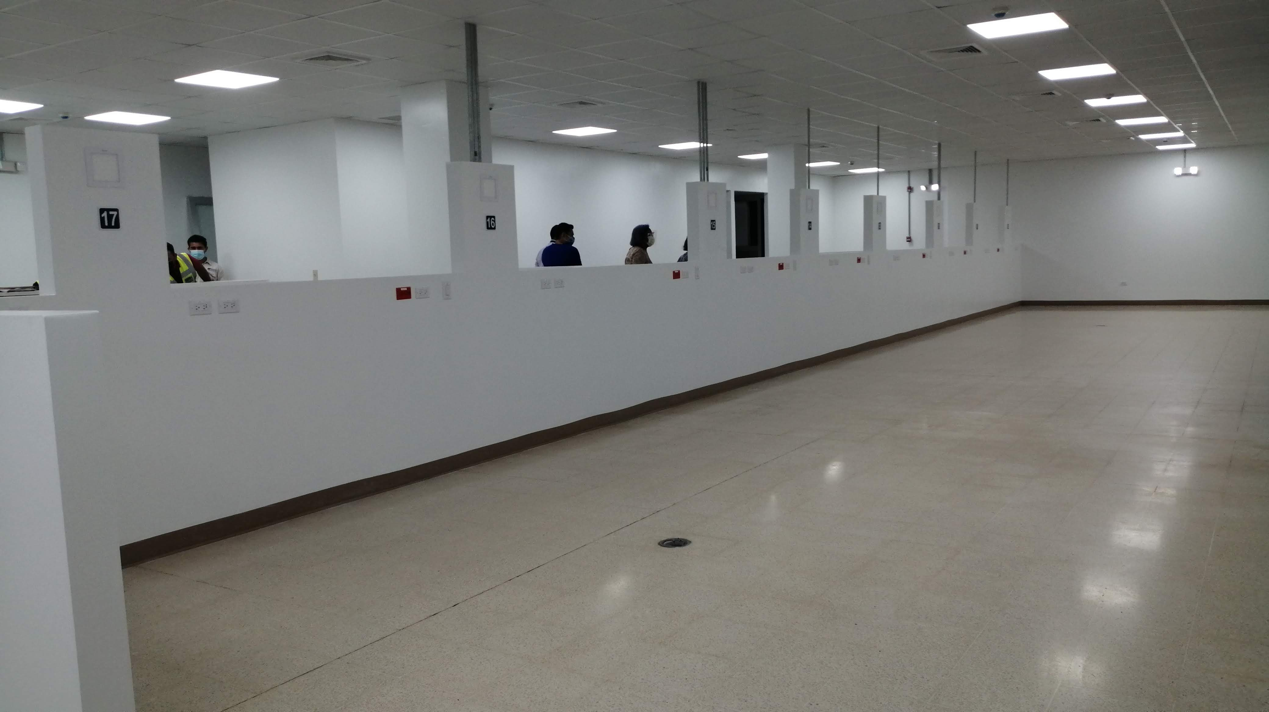 La nueva sala podría comenzar a recibir pacientes la próxima semana. Foto: Eric A. Montenegro