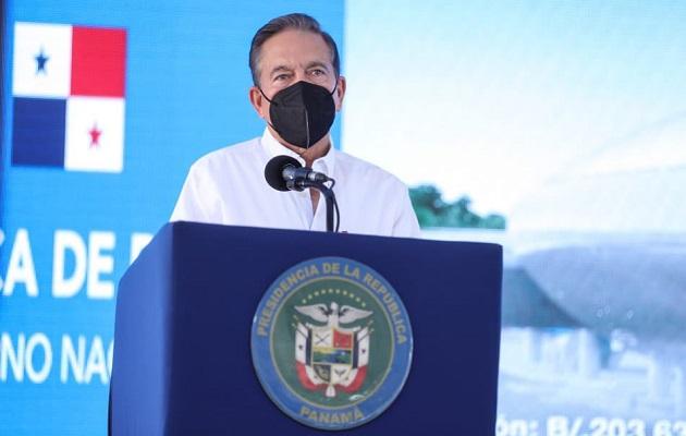Laurentino Cortizo dijo que las obras del Metro generarán trabajo.
