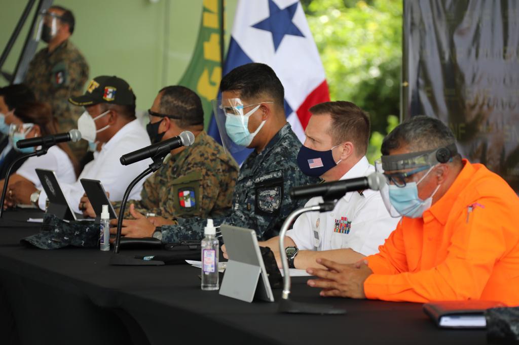 Durante el ejercicio se realizarán movimientos aéreos en la ciudad de Panamá y la región de Darién.