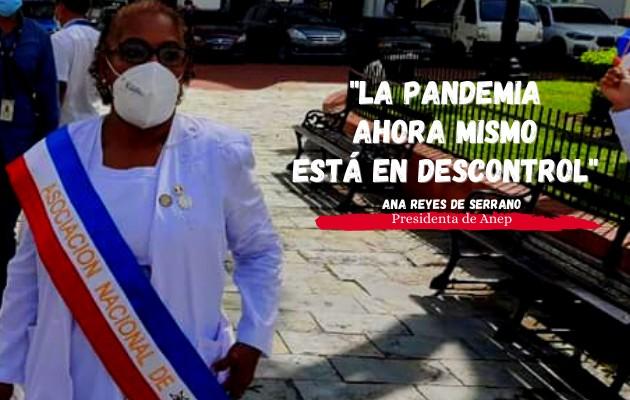 """""""Invertir en enfermería es invertir en el sistema de salud"""", dice la presidenta de Anep, Ana Reyes de Serrano. Foto:Cortesía"""