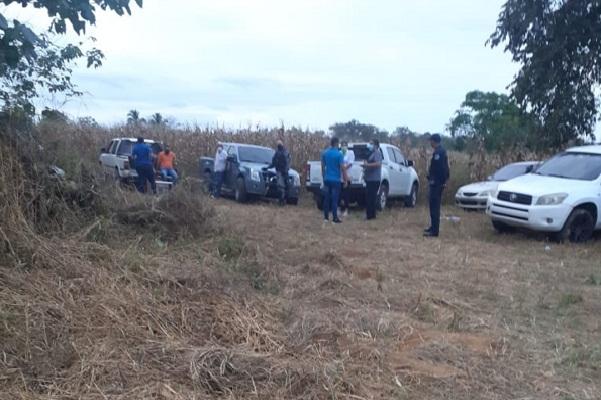 En la comunidad de El Bijao, en el corregimiento de Los Olivos, distrito de Los Santos, se detectó una gallera clandestina dentro de un terreno sembrado de maíz.