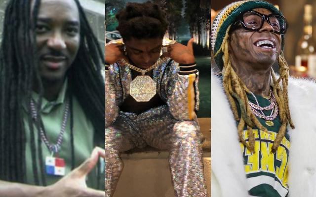 Jaime Davidson, Kodak Black y Lil Wayne. Foto: Instagram