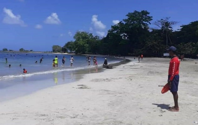 Las playas podrán ser utilizadas de lunes a viernes, por los lugareños. Foto: Diómedes Sánchez,