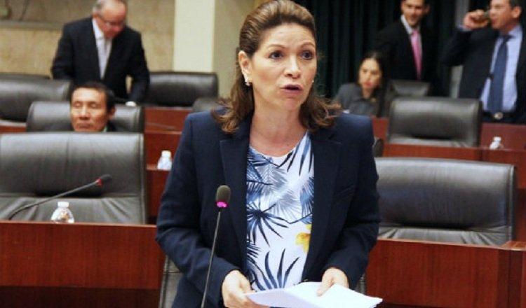 Ana Matilde Gómez fue condenada por la Corte Suprema de Justicia en 2010 por el delito de interceptación ilegal. Archivo