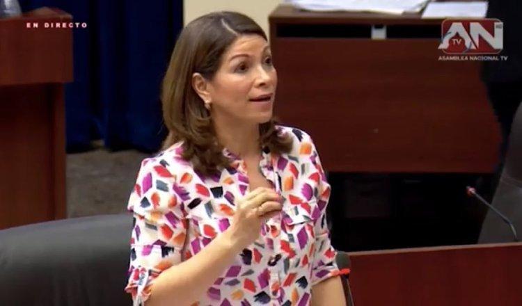 Ana Matilde Gómez ocupó el cargo de diputada durante el periodo 2014-2019. Archivo