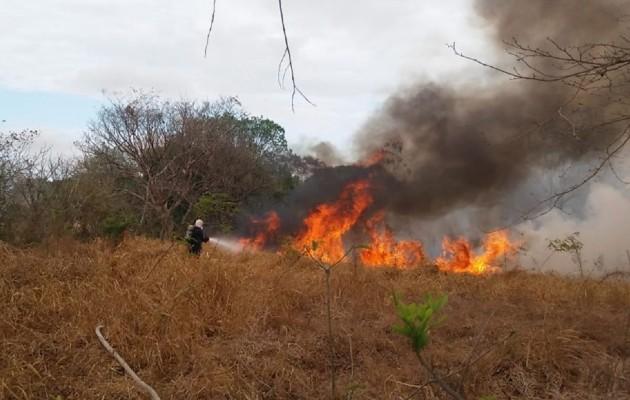 La época de incendios se inicia a mediados del mes de febrero hasta finales del mes de abril, meses en que se dan la mayor parte de estas afectaciones, según las autoridades. .