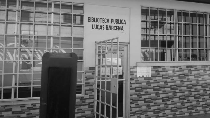 A la biblioteca le hace falta internet, ya que la conexión era posible gracias a la Infoplaza, según la señora Lourdes Tejada. Foto: Cortesía Lourdes Tejada.