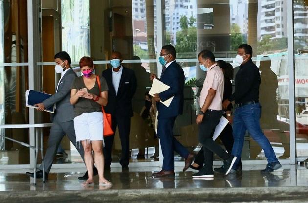 El juez Rangel solicitó los descargos de los representantes del PH TOC. Cortesía