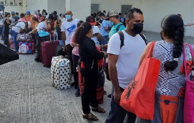 Unas 140 personas volvieron a su tierra natal Nicaragua. Foto:Cortesía