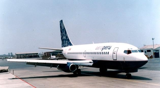 La última línea de bandera en el país fue AeroPerú, una compañía que fue privatizada durante el Gobierno de Alberto Fujimori. EFE