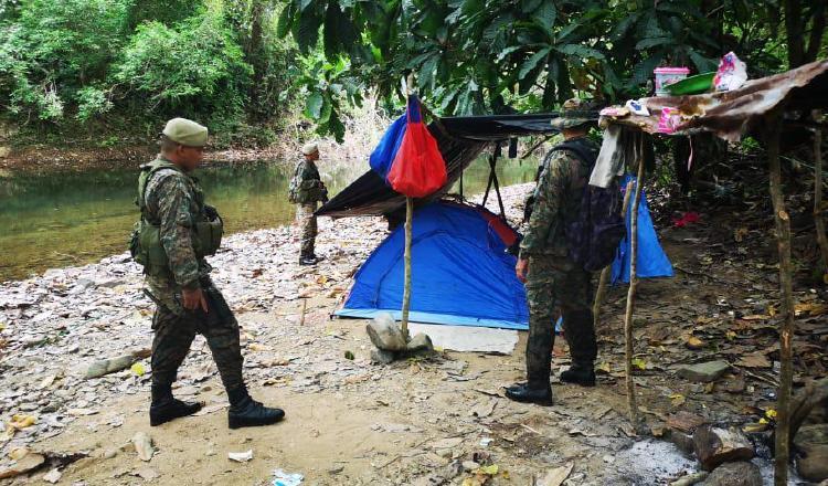 El Servicio Nacional de Frontera mantiene constante vigilancia en este punto del país para tratar de evitar los grupos delincuenciales puedan cometer sus fechorías.