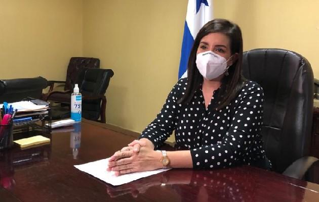 Judy Meana vuelve a la vicealcaldía de Panamá. Foto:Cortesía