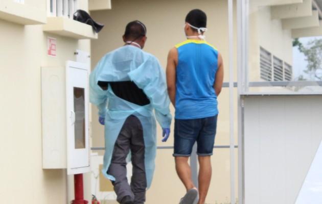 Los contagios entre la población penitenciaria pasaron de 78 a 68 casos. Foto: Cortesía