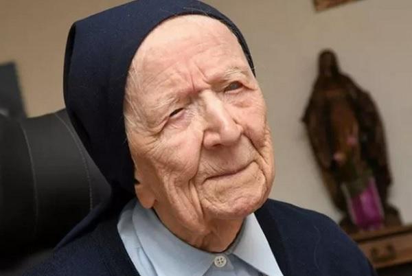 Lucile Randon nació el 11 de febrero de 1904.