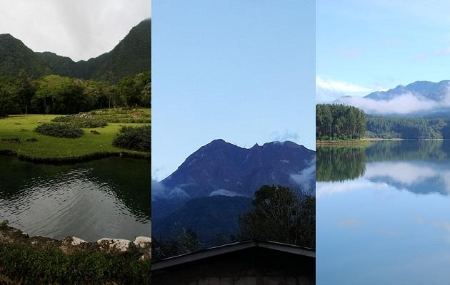 El Valle, Barú y La Yeguada son considerados volcanes activos.