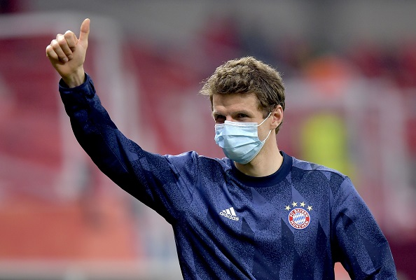 Thomas Muller, delantero del Bayern Munich. Foto: EFE