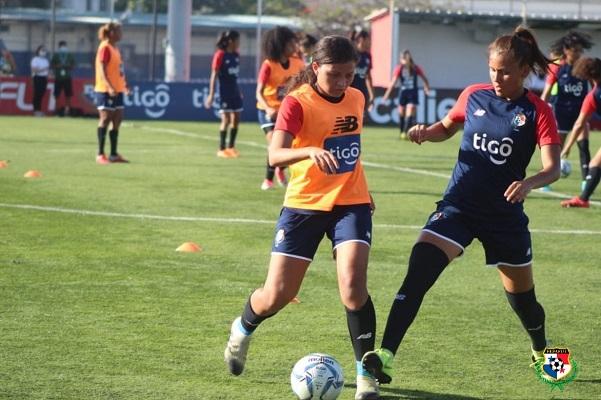 La selección se prepara para sus amistosos ante Guatemala. Foto: @fepafut