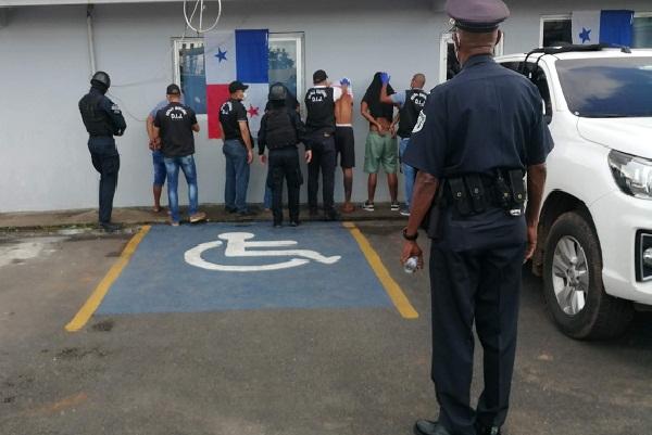 La detención de estos 12 ciudadanos ocurrió el pasado 11 de febrero en el sector de Sajalices.