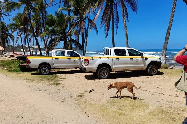 Las playas verificadas por las autoridades fueron las de Viento Frío, Palenque y Miramar en el distrito de Santa Isabel, en la Costa Arriba de Colón.